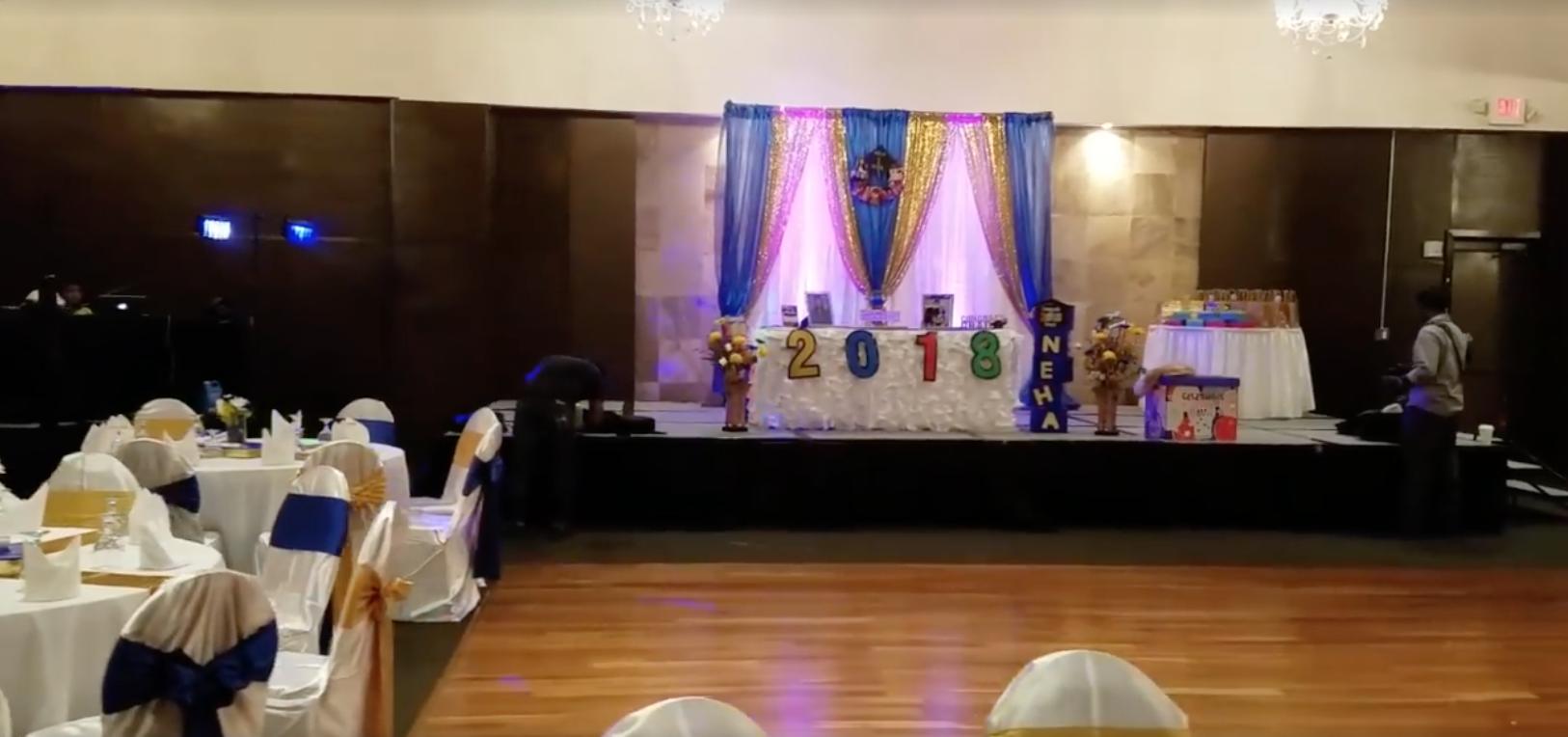 Graduation Party Decor At Tadka Restaurant Alpharetta Anju Events