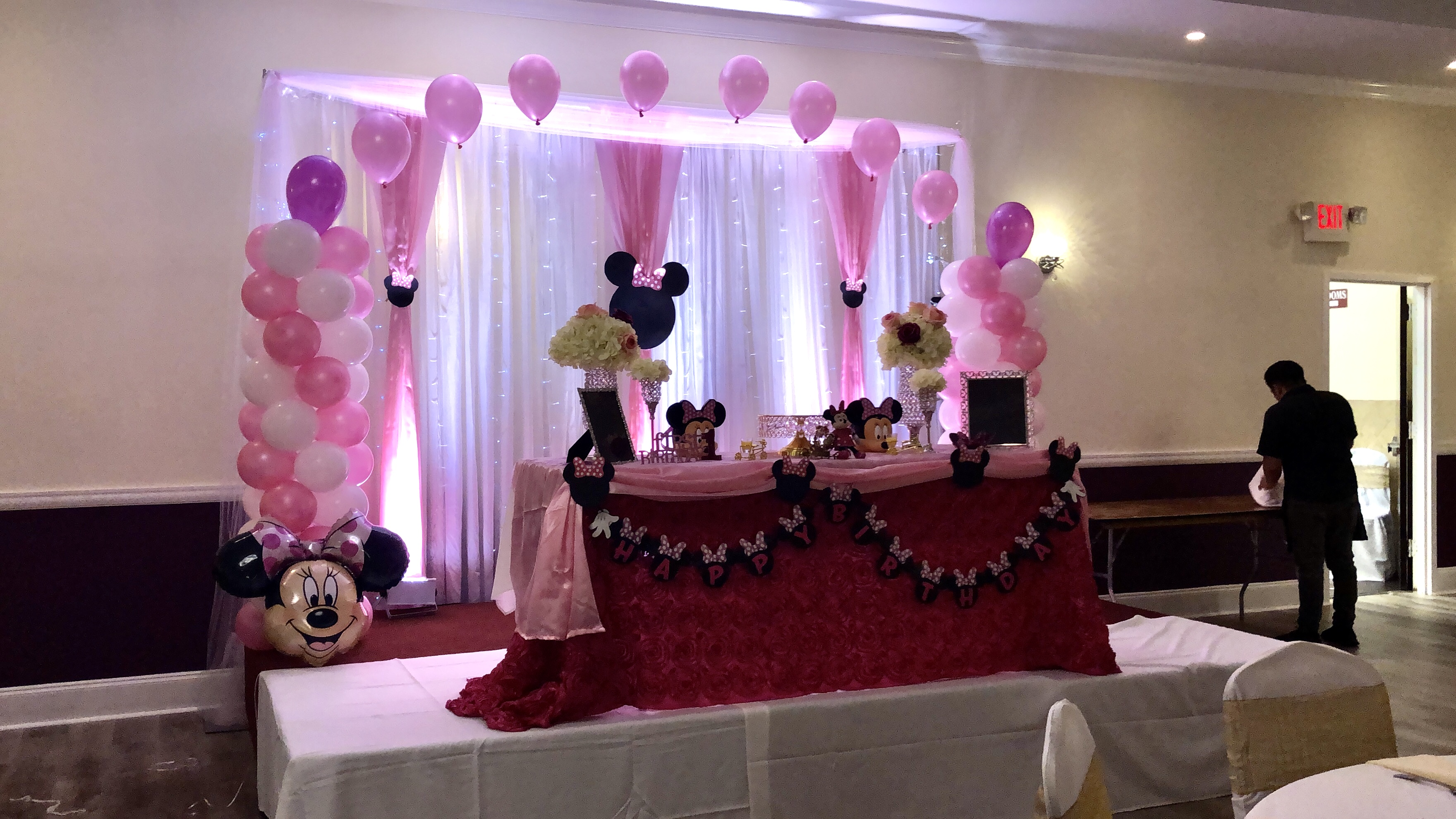 Mini Mouse Theme Baby First